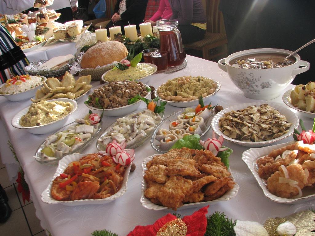 Resultado de imagen de wigilia 12 potrawy