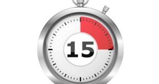 التوعية النوعية - قانون 15 دقيقة