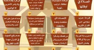 المجتمع المسلم - دستور المنزل