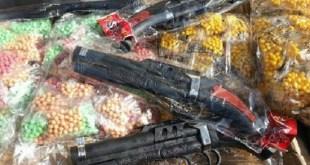 توجيهات - حكم مسدسات وبواريد الخرز