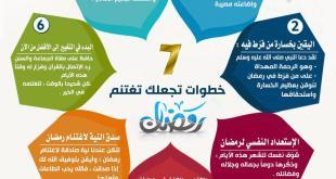 الاستعداد لرمضان - 7 خطوات تجعلك تغتنم رمضان