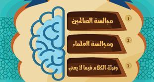 زاد الطلبة - ثلاثة تزيد في العقل