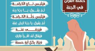 زاد الطلبة - إكرام حملة القرآن في الجنة
