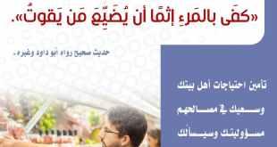 الأسرة المسلمة - لا تتجاهل مسؤولياتك