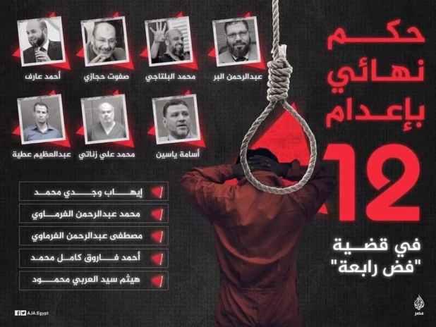 منشورات محمد أبو النصر - أوقفوا الإعدامات في مصر