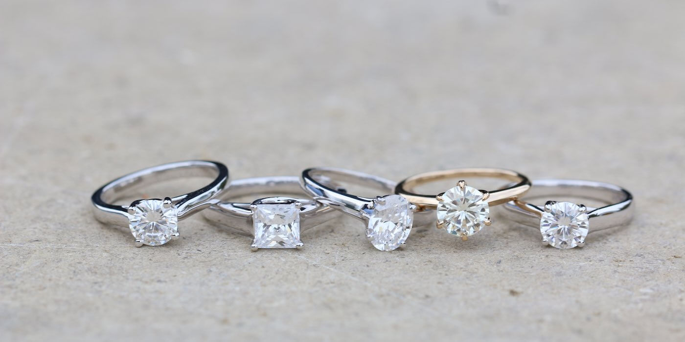 White Sapphire Engagement Rings Must Read Tips Do Amore
