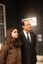 At Madame Tussaud's