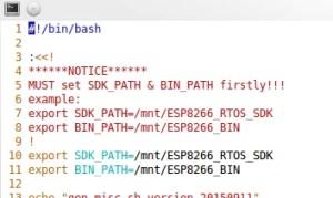 Exemplo de como devem ficar os exports | firmware para esp8266