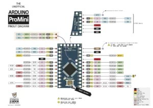Arduino Pro Mini Wiring