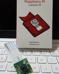 Câmera RPi V2 8MP