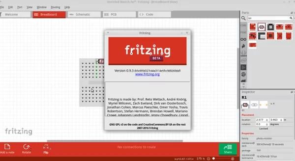 Introdução ao Fritzing para Arduino