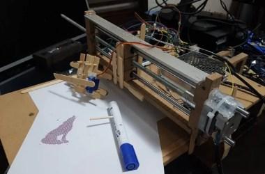 Impressora matricial - Impressora com Arduino