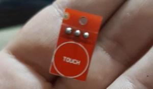 sensor de toque capacitivo
