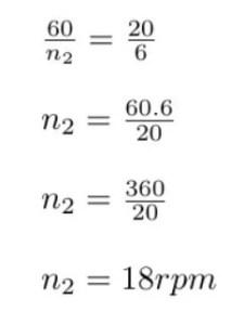 como calcular RPM