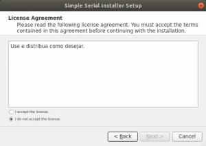 Como criar instalador - licença e aceitação