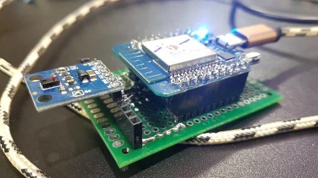 Sensor de gestos com esp32