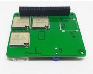 Hat LoRa para Raspberry Pi - 3 rádios