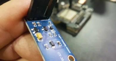 sensor de luminosidade GY-30