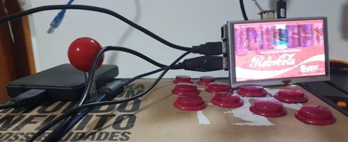 controle arcade USB