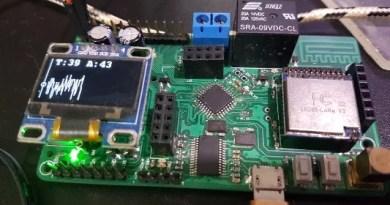 Gráfico com OLED no Arduino