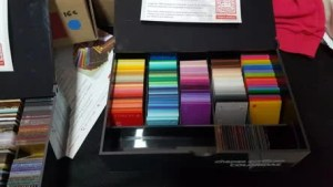 acrílico colorido sinteglas