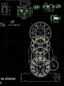 projetos de relógio em acrílico para corte laser