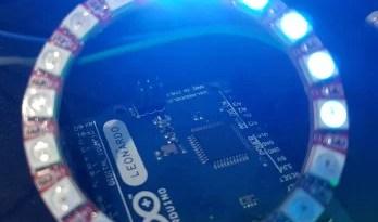 Controle de LED endereçado