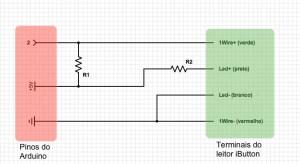 iButton com Arduino - wiring