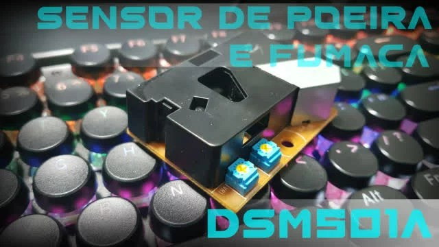 Sensor de poeira e fumaça DSM501A