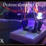 potenciômetro digital com Arduino