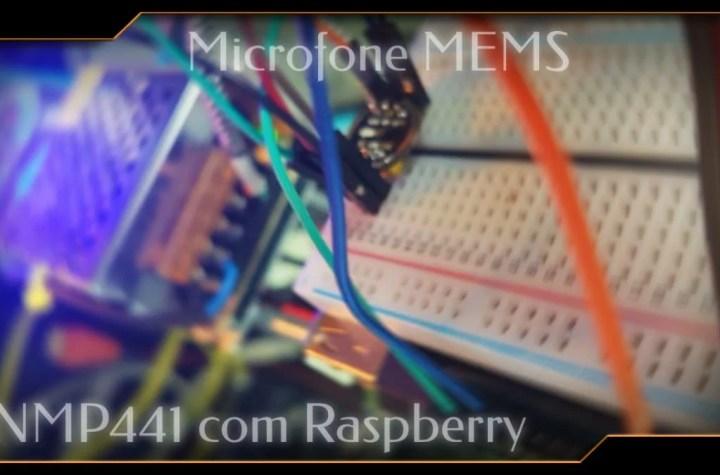 Microfone I2S com Raspberry