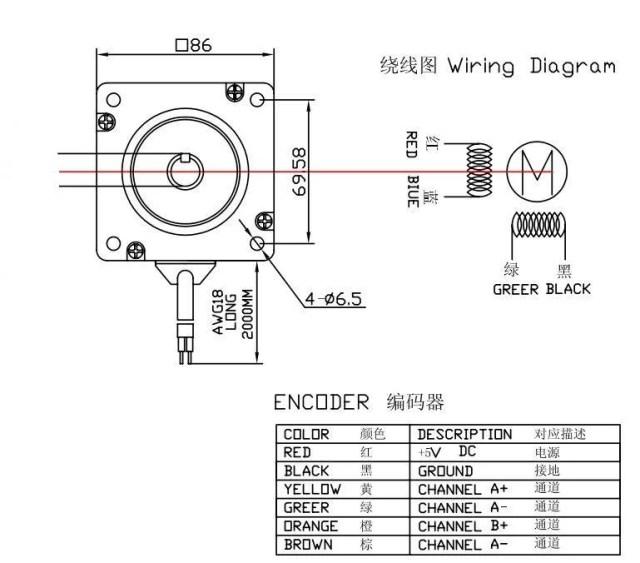 motor de passo com HBS860H