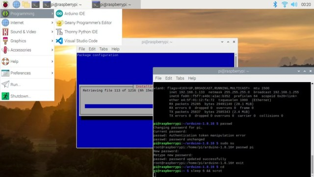Como programar no Raspberry Pi 400 com arduino ide