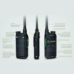 Radio digital empresarial BD306