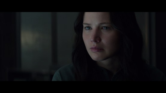 Katniss with the intent stare @ 6:58