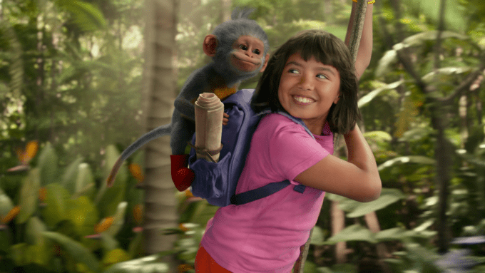 Dora and the Lost City of Gold Blu-ray screen shot