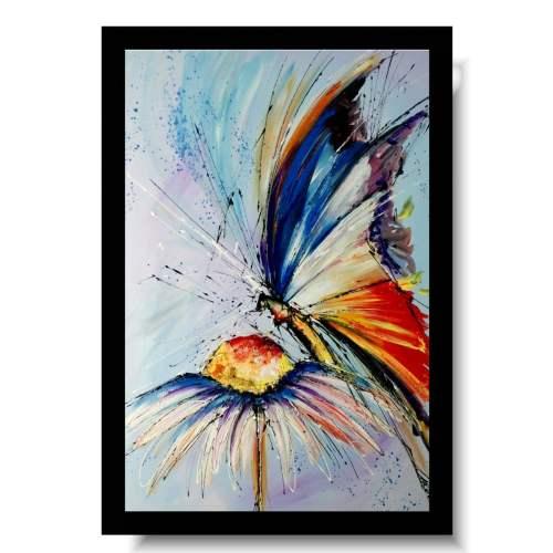 Obraz motyl wiosenny obrazy zwierzęta na płótnie 1724A