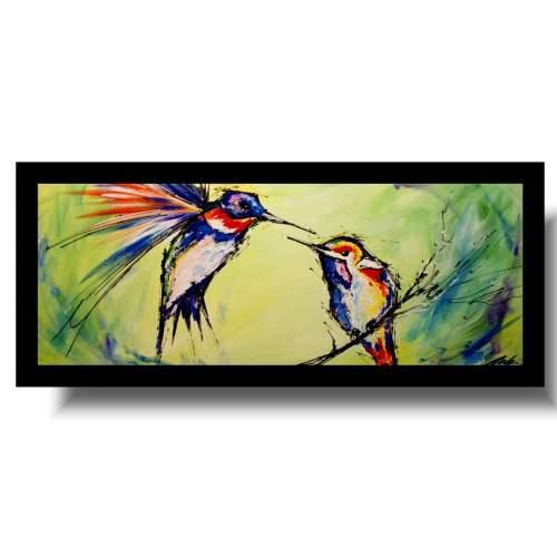 Obrazy ptaki obraz ze zwierzętami do młodzieżowego pokoju 1727A