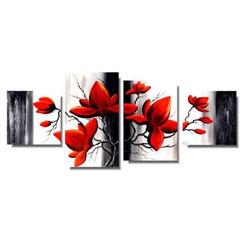obraz cudowne kwiaty