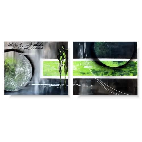 Postacie obraz zielone marzenia