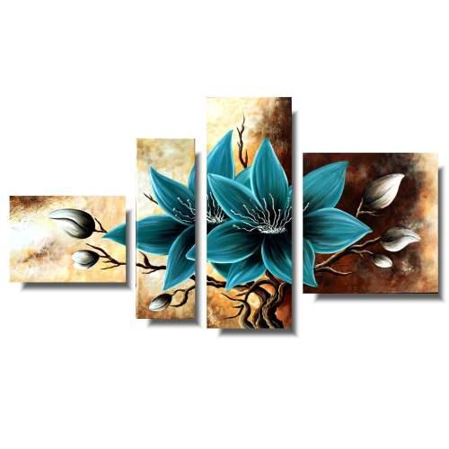 kwiaty obrazy 1092AB
