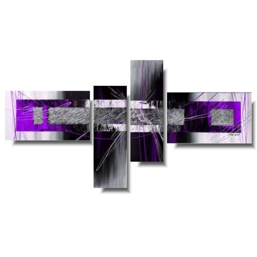Obraz nowoczesny fioletowa przestrzeń
