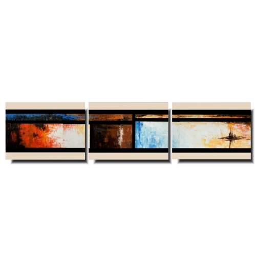 Tryptyk nowoczesny obraz abstrakcyjny