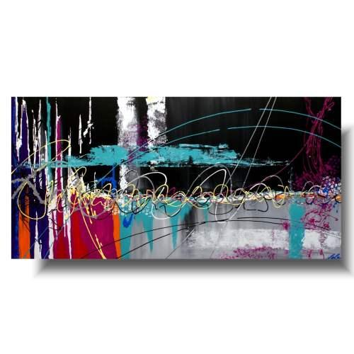 Obraz LED zwariowana abstrakcja