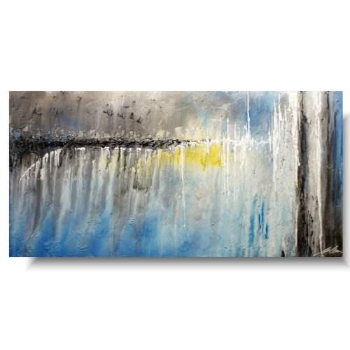 Obraz abstrakcja w oddali
