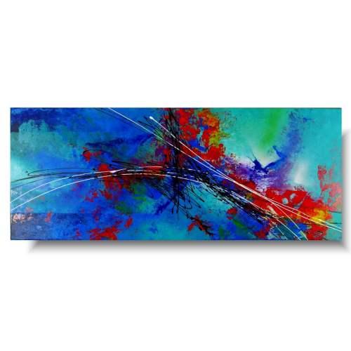 Nowoczesny obraz abstrakcja przestrzeń