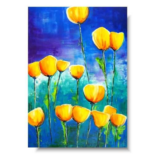 Ciekawe obrazy z kwiatami