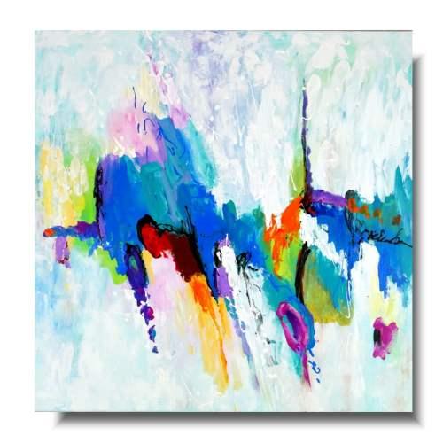 Nowoczesny obraz holi colors