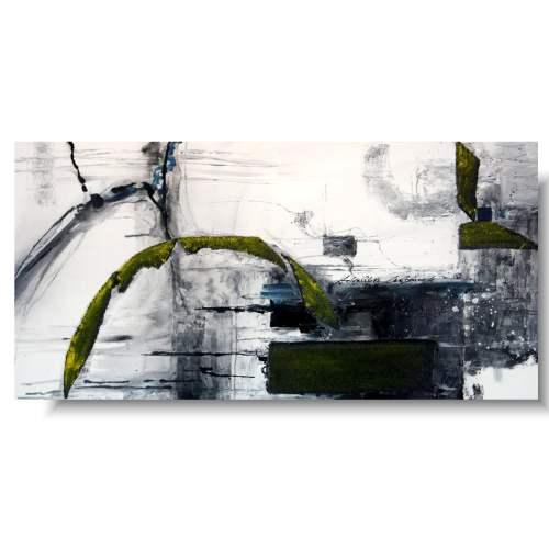 Sztuka współczesna abstrakcja walka