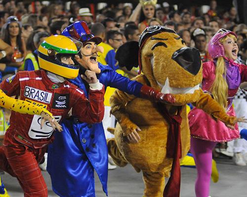 Carnival Samba Parade